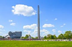 Monumento al coraggioso, fortezza di Brest, Belarus di guerra Immagine Stock Libera da Diritti