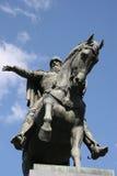 Monumento al fundador de Moscú Fotos de archivo libres de regalías