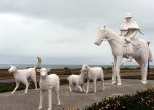 Monumento al gaucho in Rio Grande fotografia stock libera da diritti
