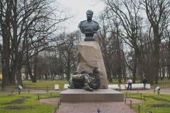Monumento al hombre y al camello Fotos de archivo libres de regalías