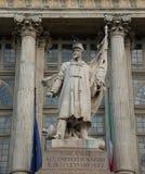 Monumento al obispo - Turín - Italia Imágenes de archivo libres de regalías