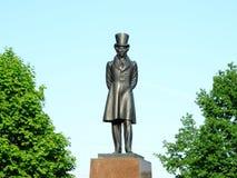 Monumento al poeta Alexander Pushkin Imagen de archivo libre de regalías