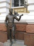 Monumento al poliziotto del dopoguerra fotografie stock libere da diritti