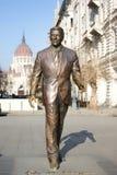 Monumento al presidente de los E.E.U.U. Ronald Reagan Imagen de archivo libre de regalías