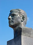 Monumento al primo cosmonauta Y. Gagarin Fotografia Stock Libera da Diritti