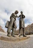 Monumento al primo insegnante Fotografia Stock