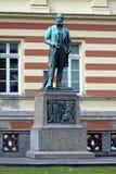Monumento al químico alemán agosto Kekule en Bonn fotografía de archivo