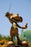 Monumento al ratón de mickey en Disneylandya California Imágenes de archivo libres de regalías