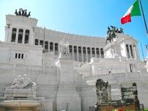 Monumento al vincitore Emanuel II Immagini Stock