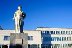 Monumento a Alaiza Pashkevich Ciotka in Ostrina Immagini Stock