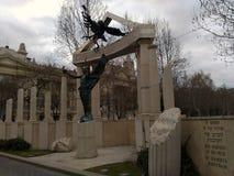 Monumento alemán del empleo Foto de archivo libre de regalías