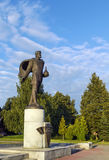 Monumento a Alexander Nevsky, Veliky Novgorod Imágenes de archivo libres de regalías