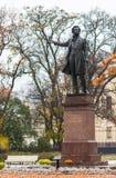 Monumento a Alexander Pushkin imagem de stock