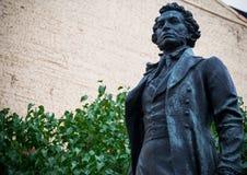 Monumento a Alexander Pushkin Fotos de Stock