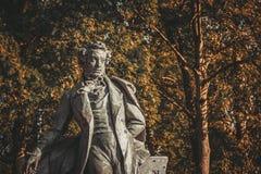 Monumento a Alexander Sergeevich Pushkin foto de stock