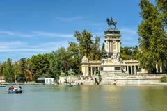 Monumento Alfonso XII Royalty Free Stock Photos