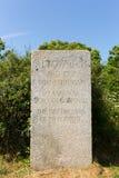 Monumento a Alfred Leslie Rowse Cornwall foto de archivo libre de regalías