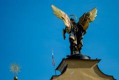 Monumento all'arcangelo Michael Fotografia Stock Libera da Diritti