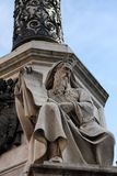 Monumento all Immacolata in Rome Royalty-vrije Stock Fotografie