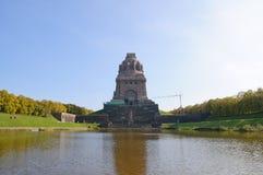 Monumento alla battaglia delle nazioni - Leipzig, G Immagini Stock Libere da Diritti