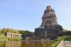 Monumento alla battaglia delle nazioni - Leipzig, G Fotografie Stock Libere da Diritti