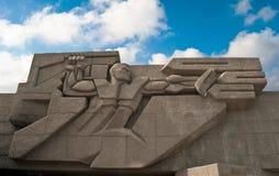 Monumento alla difensiva della città di Sevastopol Fotografie Stock