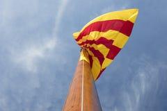 Monumento alla gente che ha combattuto Barcellona di difesa durante il sie fotografia stock