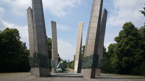 Monumento alla gloria ai Sappers ('di Pomnik ChwaÅ un Saperom) Fotografie Stock Libere da Diritti