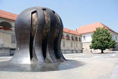 Monumento alla lotta della liberazione della gente Fotografia Stock Libera da Diritti