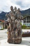 Monumento alla passeggiata di Brienz Fotografia Stock