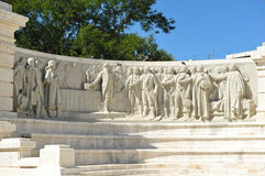 Monumento alle corti di Cadice, 1812 costituzione, Andalusia, Spagna Immagine Stock