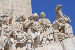 Monumento alle scoperte, Lisbona Immagine Stock