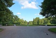 Monumento alle vittime della rivoluzione Parco di Pavlovsky La città di Pavlovsk immagini stock