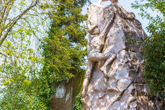 Monumento a Alpini Corp fotografie stock