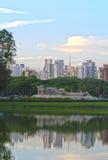 Monumento als Bandeiras, Sao Paulo Stockfotografie