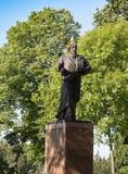 Monumento a Andrew o Primeiro-nascido na ilha de Valaam Fotografia de Stock Royalty Free