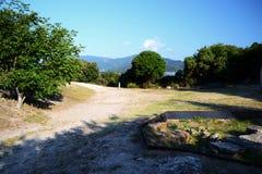 Monumento antico di Stagira immagine stock