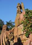 Monumento antiguo en Baden-Baden, Alemania de Román Fotos de archivo