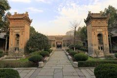 Monumento antiguo mezquita del carril del huajue de xian de la gran, adobe rgb Fotografía de archivo libre de regalías