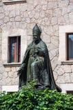 Monumento ao bispo Pere Joan Campins foto de stock