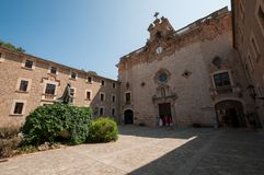 Monumento ao bispo Pere Joan Campins imagem de stock royalty free