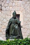 Monumento ao bispo Pere Joan Campins imagens de stock royalty free