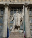 Monumento ao bispo - Turin - Itália Imagens de Stock Royalty Free