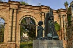 Monumento ao caído nas duas guerras mundiais imagens de stock royalty free