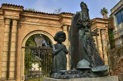 Monumento ao caído nas duas guerras mundiais imagem de stock royalty free