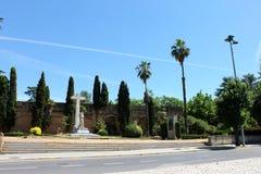 Monumento ao herói caído, Badajoz, Espanha fotografia de stock royalty free