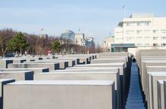 Monumento ao holocausto em Berlim Fotografia de Stock Royalty Free
