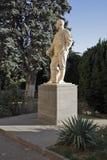 Monumento ao líder soviético Josef Stalin em sua cidade natal Gori em Geórgia imagens de stock royalty free