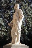Monumento ao líder soviético Josef Stalin em sua cidade natal Gori em Geórgia fotos de stock royalty free