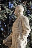 Monumento ao líder soviético Josef Stalin em sua cidade natal Gori em Geórgia imagem de stock royalty free